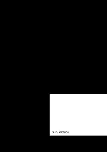 Geschäftsbuch: Kladde   A4   96 Blatt   kariert   schwarz
