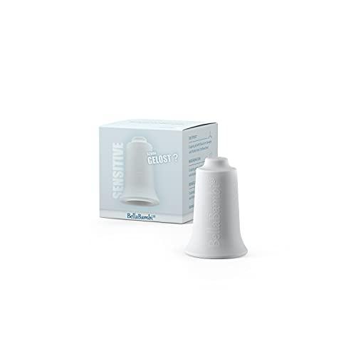 Ventouse BellaBambi MINI, traitement des fascias. Fabriquée en Allemagne - en silicone médical, BellaBambi Ventouse Solo, 1 pièce - SENSITIVE - Blanc (faible intensité)