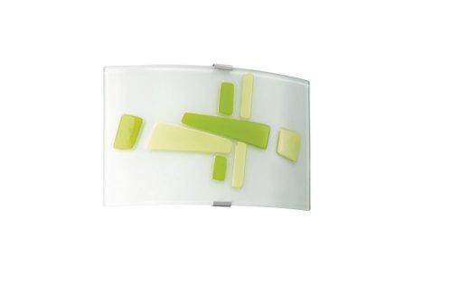 Massive applique Lampe (intérieur courant alternatif G9 halogène ovale,) Vert