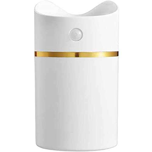 vfvfvf Ultrasony Cool Cálido Humidificador de Niebla Whisper Humidificador silencioso para Dormitorio Habitación Grande Bebés Inicio 380ML Capacidad para la Piel de la Tos Seca