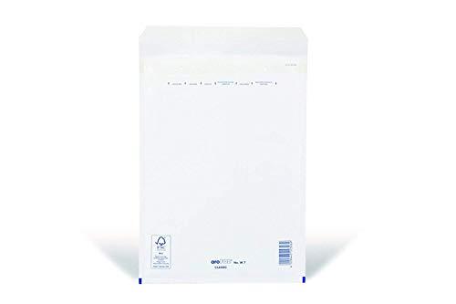 100 x Luftpolsterversandtaschen Weiss - Gr. G / 7 [ 250 x 350 mm ] Luftpolstertaschen Versandtaschen Umschläge