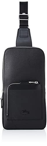 Lacoste NH3633CE, Body Bag Homme, Noir, Taille Unique