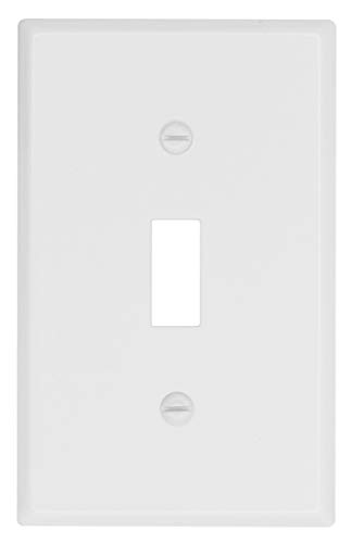 Atron White Traditional Wallplate, switch-plate, Classic Electrical Cover_2-164 (Toggle)