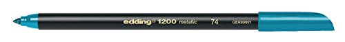 Edding rotuladores 1200 Metallic color Pen 1 3 mm Color Verd