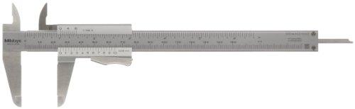MITUTOYO Präzision-Messschieber mit Momentklemmung DIN 862 0-150 mm, 1 Stück, 531-122