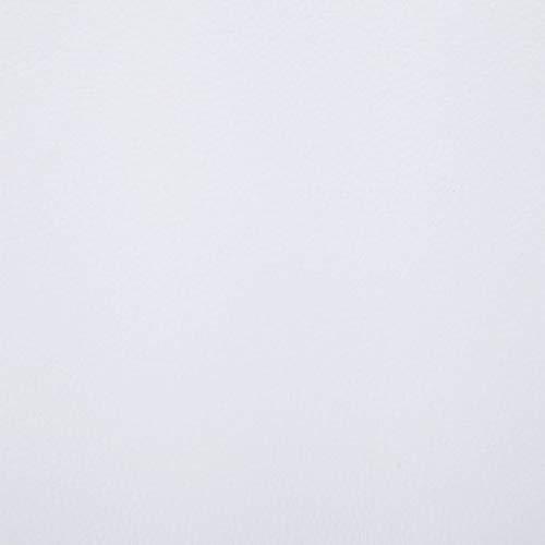 vidaXL Chaiselongue mit Massage Kissen Relaxliege Liegesessel Sessel Lounge Liegestuhl Relaxsessel Loungesessel Sesselliege Komfortliege Weiß Kunstleder