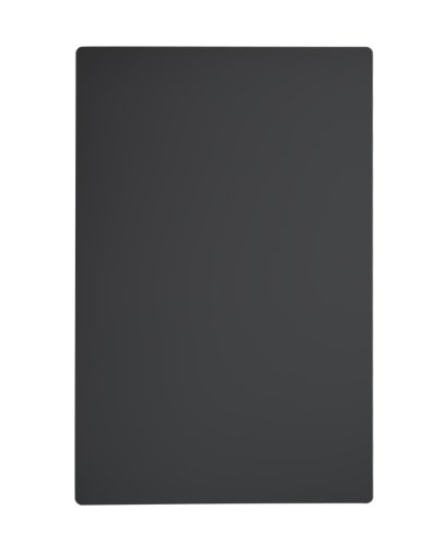 Wetterfeste Kreidetafel in schwarz, kein Verblassen, Maße: 90 x 60 cm, inkl. 2 nichtrostender Aufhängeösen
