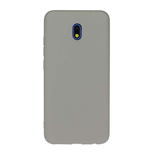 LeviDo Funda Compatible para Samsung Galaxy J5 2017 Silicona TPU Gel Case Ultrafina Carcasa Goma Bumper Antigolpes Resistente Kawaii Color Caramelo One Piece Cover, Gris