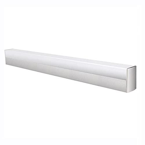 WHSW Applique da Parete per Bagno, Illuminazione per Bagno Vanity LED Cornice per Specchio, Bagno Moderna Lampada per Trucco Minimalista Bagno Toilette Nordic Free Punzonatura Specchio Cabinet Li