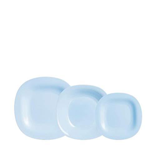 Luminarc - Vajilla Carine azul 18 piezas (7144186)