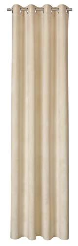 ESPRIT Vivide Ösenvorhang Gardinen Vorhänge Stores - Größe 130 x 250 cm - Farbe beige/Grey/ lightblue /Mint/Rose/Sand