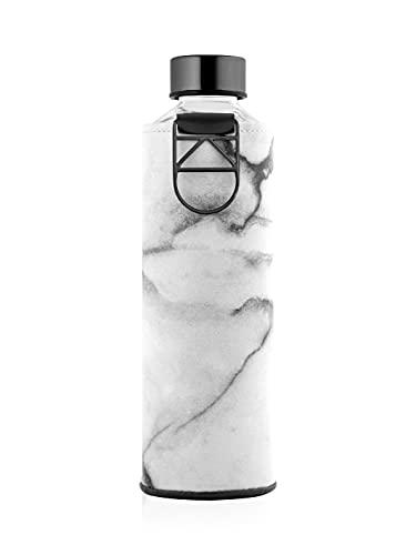 EQUA Botella Cristal Mismatch con ASA Metal 750 ml, Adultos Unisex, Rosa,...
