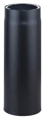 Möck Ofenrohr, doppelwandig gedämmt, System Primus, 150/500 mm schwarz