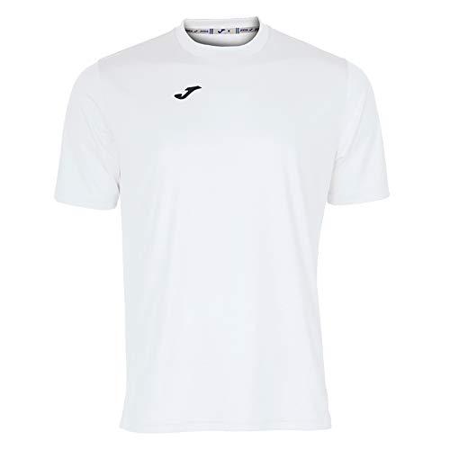 Joma Combi Camiseta Manga Corta, Hombres, Blanco, S