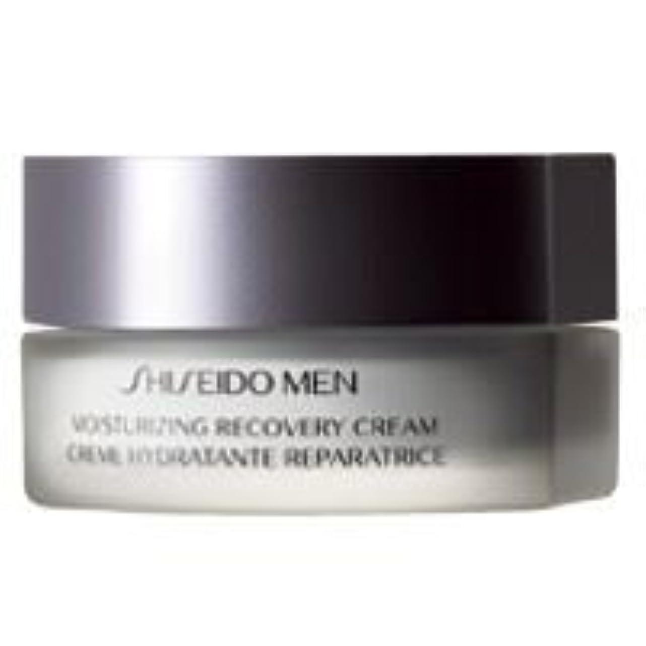 荒涼とした社会科白内障[Shiseido] 資生堂の男性が回復クリーム50Ml保湿 - Shiseido Men Moisturizing Recovery Cream 50ml [並行輸入品]