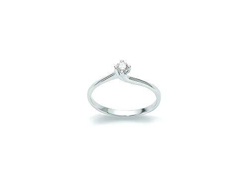 Yukiko Anello Donna Oro Bianco e Diamanti lid5180y