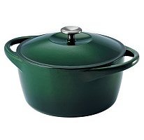 Tramontina 6.5 Qt. Cast Iron Dutch Oven Casserole Dish with Stainless Steel Handle - Hunter...