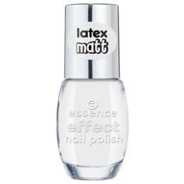 Essence effect nail polish latex matt, vernis à ongles de couleur n°37 the white bunny !, 10 ml, 0.33 fl.oz
