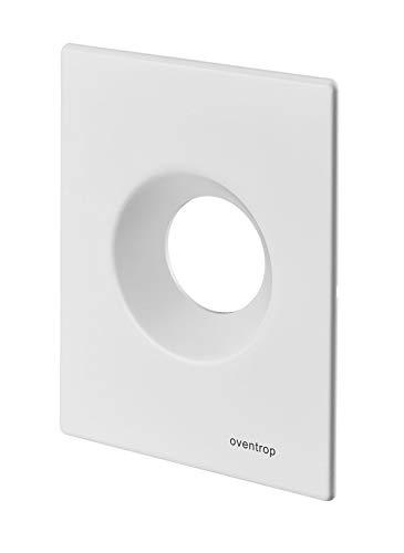 Oventrop Abdeckplatte für Unibox RTL, T, Vario und plus Bautiefe 110 mm, weiß