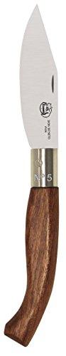 Imex El Zorro 51212-i – Couteau Pointe, Couleur Marron, 10 cm