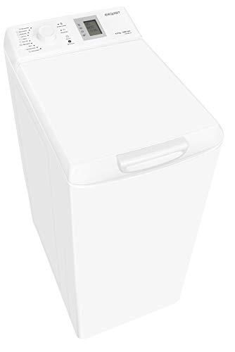 Exquisit Waschmaschine LTO 1206-18 | Toplader |6.5 kg Fassungsvermögen |weiß