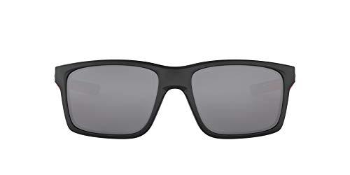 OAKLEY Mainlink OO9264 Gafas de sol para Unisex, Negro Mate/Rojo, 0