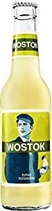 12 Flaschen Wostok Birne Rosmarin Brause a 0,33l inc. 0,96€ Pfand