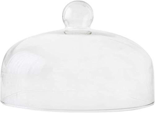 Tapas para tablas de queso Cúpula para pastel, cubierta de cúpula de vidrio transparente para la cúpula de conservación de alimentos para la cúpula de cocina doméstica para la ensalada de vegetales do
