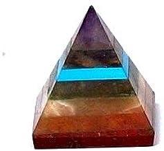 Healing Crystals India®: Pirámides de piedras semipreciosas (1 unidad- 25-30 mm).