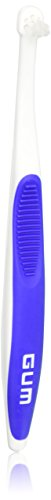 Gum 308 End Tuft Toothbrush - Colors Vary (3 Pack)