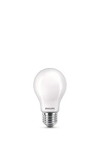 Philips LEDclassic ersetzt 60W, E27, A60, 3-er Pack, warmweiß (2700 Kelvin), 806 Lumen, matt