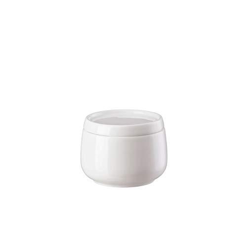 Rosenthal Hutschenreuther - Nora - Zuckerdose - Weiß - Porzellan - 0,15 L