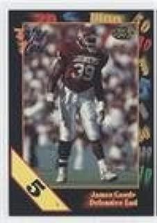 James Goode (Football Card) 1991 Wild Card Draft - [Base] - 5 Stripe #69