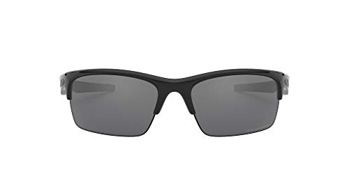 Oakley - Gafas de sol Rectangulares Bottle Rocket 9164, POLISHED BLACK/BLACK IRIDIUM POLARIZED