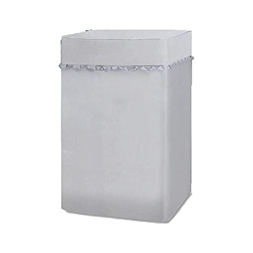 HIOD Copri Lavatrice Impermeabile con Protezione per Lavatrice con Carattere per Macchina a Carico Dall alto,A