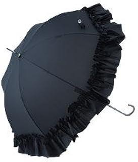 レディース雨傘 長傘 フリルアンブレラ かわいい ドームスタイル おしゃれ ラルイス 03aks-0903