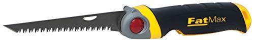 Stanley FatMax FMHT0-20559 Opklapbare decoupeerzaag, 130 mm lemmetlengte, 8 tanden/inch, jetCut-vertanding, 3-posities fixatie