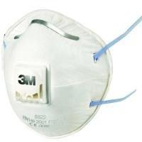 3M 8822C3–Pack 3respiradoras Masken FFP2mit Ventil
