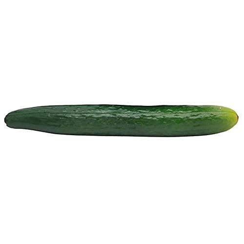 YUEZPKF Schön 6 stücke Künstliche Gurke Gefälschte Gemüsesimulation Früchte for Zuhause Küche Party Gartendekoration 27x6x5cm