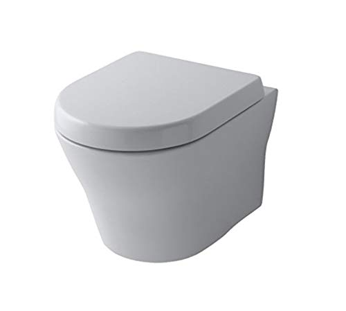 TOTO MH Wand WC Toilette Tornado Flush spülrandlos CW162Y + WC-Sitz Softclose