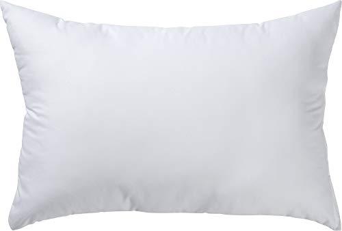 REDBEST Kuschel-Kissen, Kissenfüllung Atlanta - Textilfaser weiß Größe 40x60 cm - optimaler Feuchtigkeitsabtransport, Liegekomfort, hygienisch waschbar - Mikrofaser-Bezug