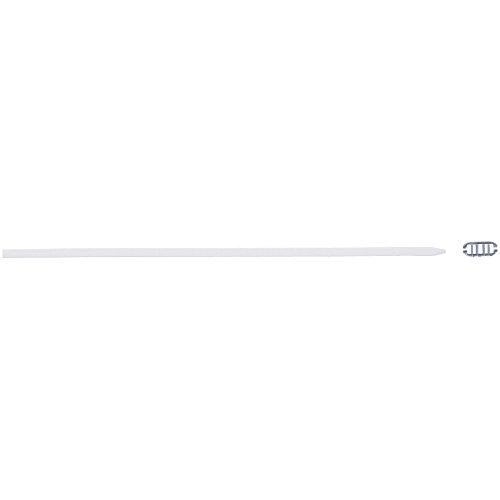 MIZUNO(ミズノ) スイミングゴーグル スイム ゴーグル替えゴム (尾錠付) N3JG608601 ホワイト