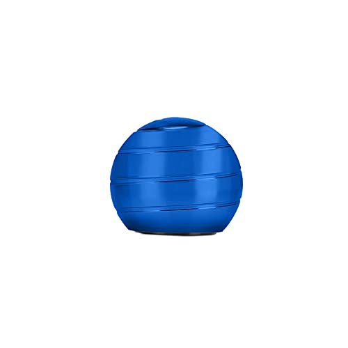 CaLeQi Kinetic Desk Toys, Optical Illusion Rotating Ball Office Stress Toys Metal Top Ball Gift for...