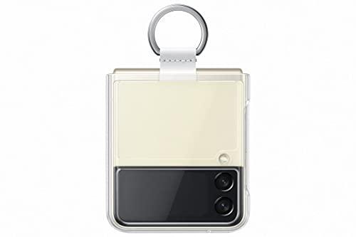 Samsung Coque avec Anneau Transparent Galaxy Z Flip 3