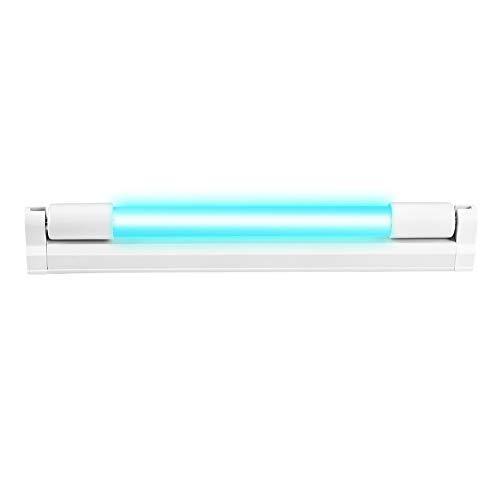 UV-keimtötendes Licht, T5-Röhrchen mit UVC-Desinfektionssterilisator, 6W UV-Quarzlampe, Tragbare UV-C-Desinfektionslampe Handdesinfektion UV-keimtötende Lampen für Haushaltsbüroreisen
