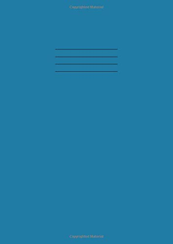 Maths Exercise Book A4 10mm: 10 mm Squares/Squared/Quad/Grid Ruled School Notebook, 100 Pages, 90gsm Paper, 210mm x 297mm - Blue cover