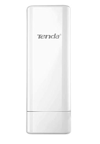 Tenda O6 5 GHz Outdoor WLAN Access Point (Bridge, 60m POE, 10Km Datenübertragung, CPE, WISP, 5 GHz, 11 AC, bis zu 433 MBit/s, Gigabit Port, 16dbi Antennen, IP64, Einfaches Management) weiß