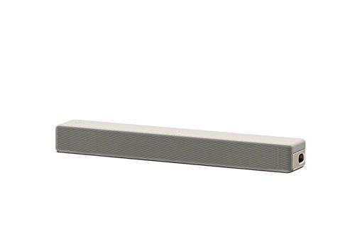 Sony HT-SF201 2.1-Kanal kompakte Soundbar mit eingebautem Subwoofer (Verbindung über HDMI, Bluetooth und USB) Cremeweiß