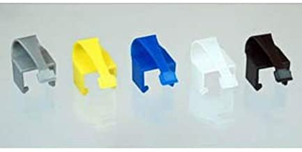 RJCLIP - Broken RJ45 Connector Solution (5 pcs: Assorted Colours of Black/Silver/Blue/Yellow/Clear)