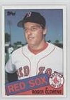 Roger Clemens RC (Rookie Card) Boston Red Sox (Baseball Card) 1985 Topps #181